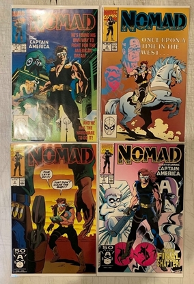 Picture of NOMAD (1990) #1-4 SET NM-