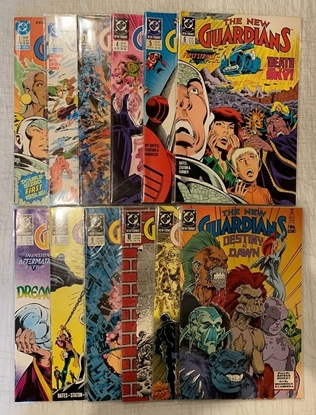 Picture of NEW GUARDIANS (1988) #1-12 SET VF/NM