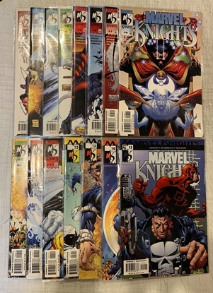 Picture of MARVEL KNIGHTS (2000) #1-15 1ST PRINT SET VF/NM