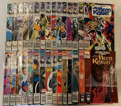 Picture of MOON KNIGHT (1989) #1-54 SET VF+