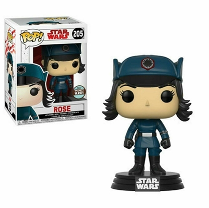Picture of FUNKO POP STAR WARS E8 ROSE #205 SPECIALTY SERIES NEW VINYL FIGURE