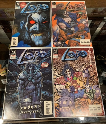 Picture of LOBO (1990) #1-4 1ST PRINT SET VF+