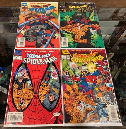 Picture of THE LETHAL FOES OF SPIDER-MAN (1993) #1-4 SET NM-