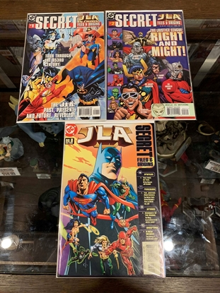 Picture of JLA SECRET FILES AND ORIGINS (1998) #1-3 SET VF/NM