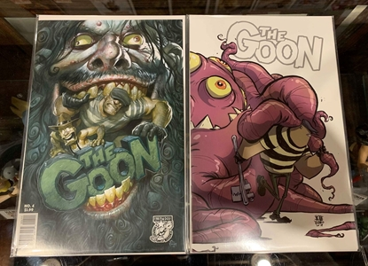 Picture of GOON #4 1ST PRINT & VARIANT CVR SET NM