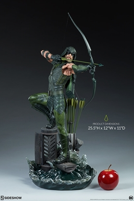 Picture of GREEN ARROW  PREMIUM FORMAT STATUE SIDESHOW