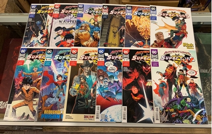 Picture of ADVENTURES OF THE SUPER SONS (2018) #1-12 1ST PRINT SET NM