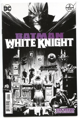 Picture of BATMAN WHITE KNIGHT #2 3RD PTG FN