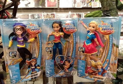 "Picture of DC MATTEL SUPER HERO GIRLS SET OF 3 12"" FIGURES NEW IN BOX"