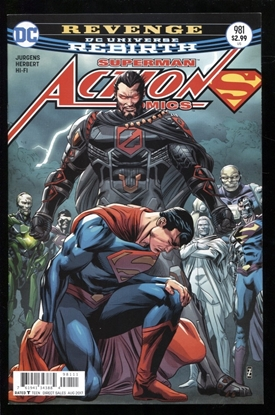 Picture of ACTION COMICS #981 NM