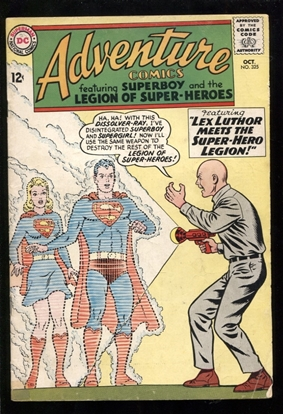 Picture of ADVENTURE COMICS (1938) #325 4.5 VG+