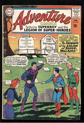 Picture of ADVENTURE COMICS (1938) #331 3.0 GD/VG