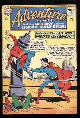 Picture of ADVENTURE COMICS (1938) #328 2.5 GD+