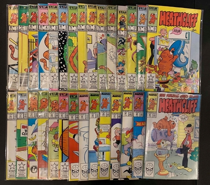 Picture of HEATHCLIFF (1985) #1-56 + ANNUAL #1 SET