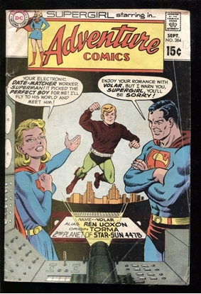 Picture of ADVENTURE COMICS (1938) #384 4.0 VG