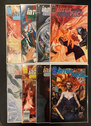 Picture of INTERFACE (1989) #1 2 3 4 5 6 7 8 1-8 COMPLETE SET HIGH GRADE NM