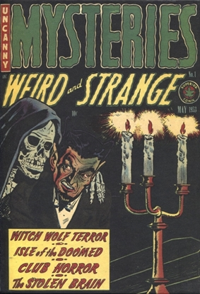 Picture of PRE CODE CLASSICS MYSTERIES WEIRD & STRANGE SLIPCASE EDITION VOL 1