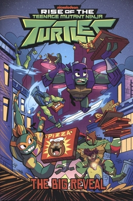 Picture of TMNT RISE OF THE TMNT TP VOL 02 BIG REVEAL