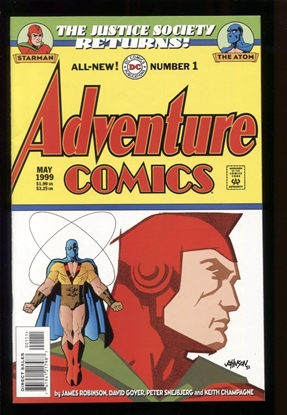 Picture of ADVENTURE COMICS (1999) #1 9.4 NM