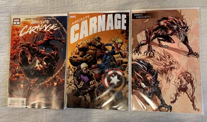 Picture of ABSOLUTE CARNAGE (2019) #2 1ST PRINT YOUNG GUNS & HOTZ 3 CVR SET NM