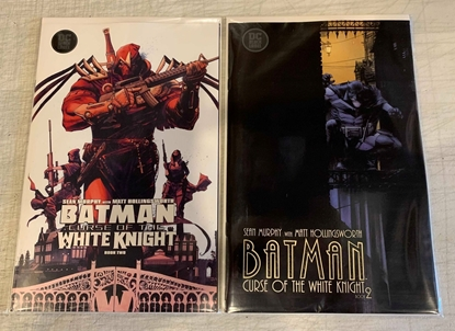 Picture of BATMAN CURSE OF THE WHITE KNIGHT #2 1ST PRINT & VARIANT CVR SET NM
