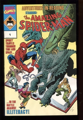 Picture of ADVENTURES IN READING: STARRING THE AMAZING SPIDER-MAN #1