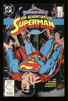 Picture of ADVENTURES OF SUPERMAN (1987) #436 9.6 NM+