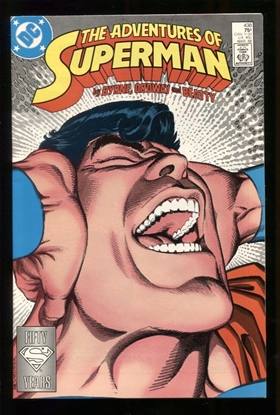 Picture of ADVENTURES OF SUPERMAN (1987) #438 9.4 NM