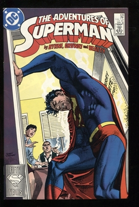 Picture of ADVENTURES OF SUPERMAN (1987) #439 8.5 VF+