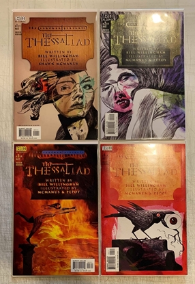 Picture of SANDMAN PRESENTS: THE THESSALIAD (2002) #1-4 SET NM-