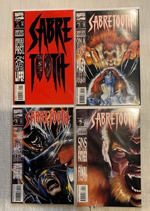 Picture of SABRETOOTH DEATH HUNT (1993) #1-4 SET NM