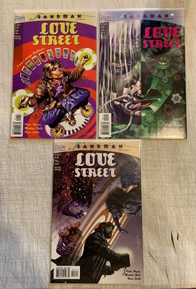 Picture of SANDMAN PRESENTS: LOVE STREET (1999) #1-3 SET NM-