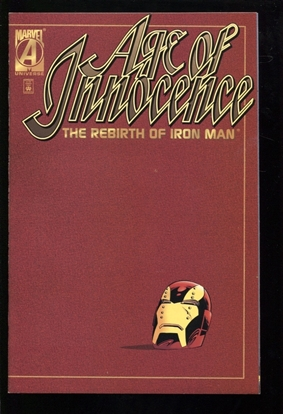 Picture of AGE OF INNOCENCE: REBIRTH OF IRON MAN (1996) #1 9.4 NM