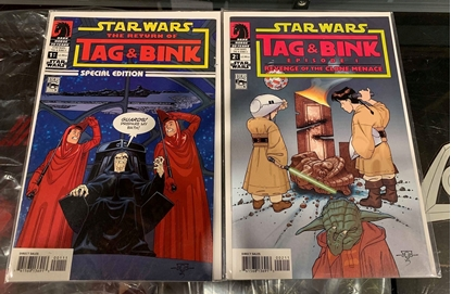 Picture of STAR WARS THE RETURN OF TAG & BINK #1-2 SET  VF+