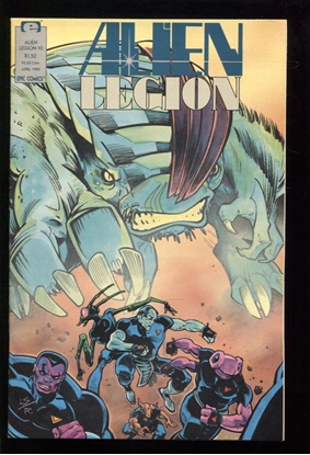 Picture of ALIEN LEGION (1987) #10 9.4 NM