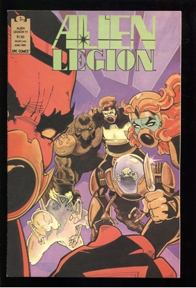 Picture of ALIEN LEGION (1987) #11 9.4 NM