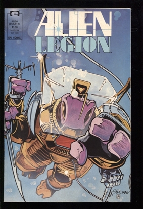 Picture of ALIEN LEGION (1987) #13 9.4 NM