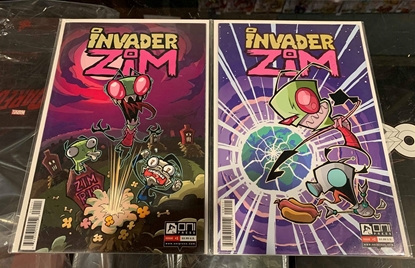 Picture of INVADER ZIM (2015) #1 & 2 1ST PRINT SET VF/NM