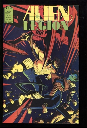 Picture of ALIEN LEGION (1987) #14 9.4 NM