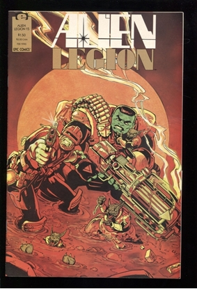 Picture of ALIEN LEGION (1987) #15 9.4 NM
