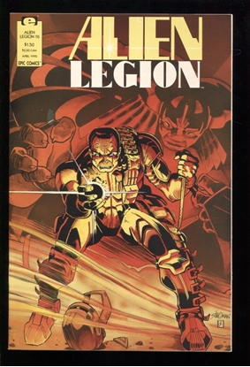 Picture of ALIEN LEGION (1987) #16 9.4 NM