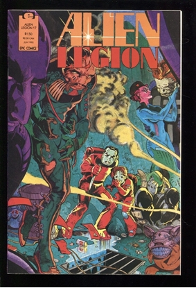 Picture of ALIEN LEGION (1987) #17 9.4 NM