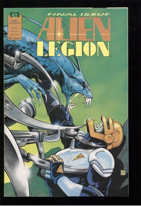 Picture of ALIEN LEGION (1987) #18 9.4 NM