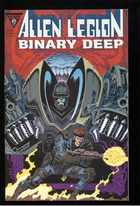 Picture of ALIEN LEGION: BINARY DEEP ONE-SHOT 9.4 NM