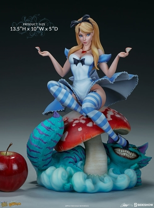 Picture of J.SCOTT CAMPBELL ALICE IN WONDERLAND SIDESHOW STATUE