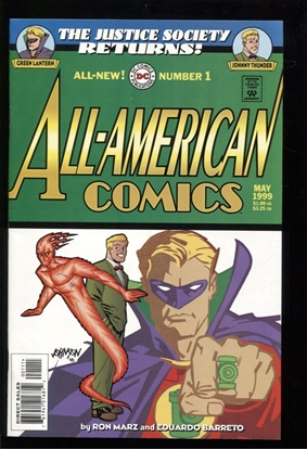 Picture of ALL AMERICAN COMICS (1999) #1 9.4 NM