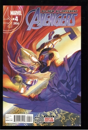 Picture of ALL NEW ALL DIFFERENT AVENGERS  (2015) #4 NM