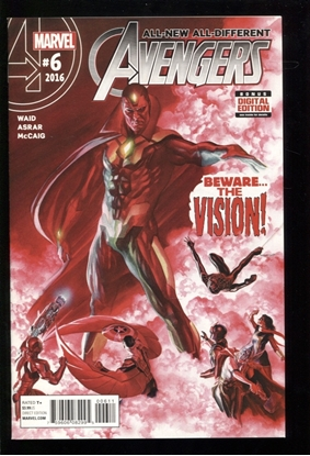 Picture of ALL NEW ALL DIFFERENT AVENGERS (2015) #6 NM