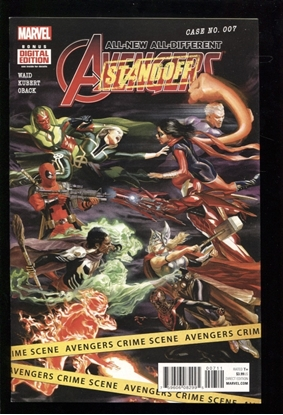 Picture of ALL NEW ALL DIFFERENT AVENGERS (2015) #7 NM