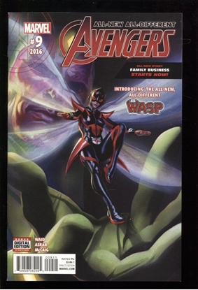 Picture of ALL NEW ALL DIFFERENT AVENGERS (2015) #9 NM